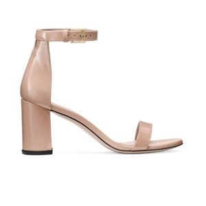 Stuart Weitzman 75Less Nudist Block Heel Sandals